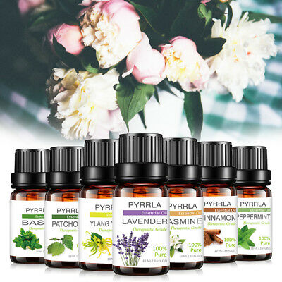 10ml Essential Oil - 100% Pure & Natural Highest Quality Aromatherpy Grade oils