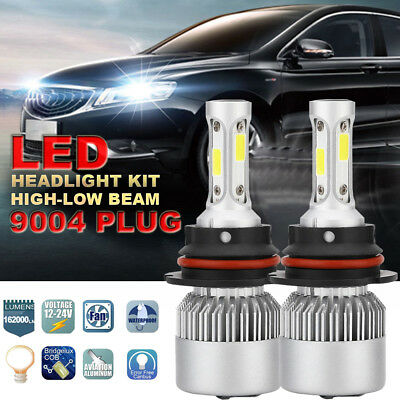 HB1 9004 Dual LED 1080W 162000LM Headlight Conversion Bulbs White 6000K HI/LO