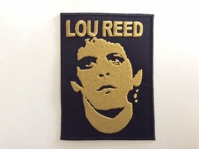 M289 // Ecusson Patch Aufnaher Toppa / Neuf / Lou Reed 8*10,5 Cm