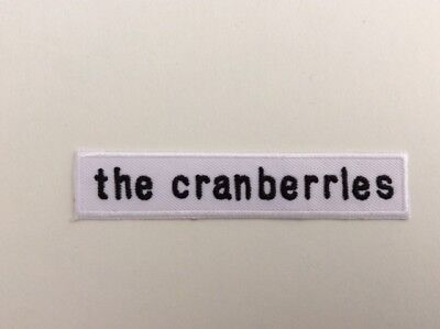 M296 // Ecusson Patch Aufnaher Toppa / Neuf / The Cranberries 10*2 Cm