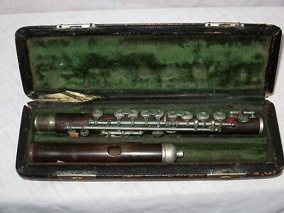 H Bettoney model 289 wooden flute antique OLD Bettoney vintage wood flute