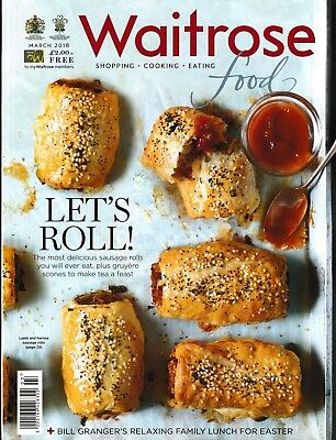 Waitrose Food Magazine - March 2018 - Let's Roll