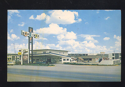 Gallup New Mexico Route 66 Shalimar Motel Highway 66 Vintage Postcard Nm