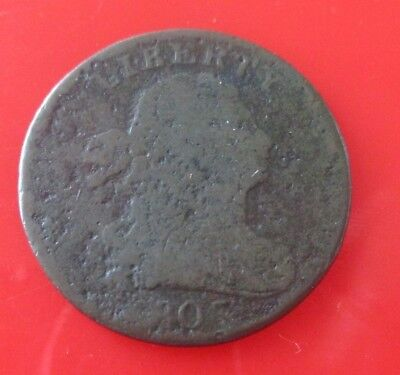 1805 Rare Early American 1805 Drapped Bust Half Cent Rare Drapped Bust Half Cent