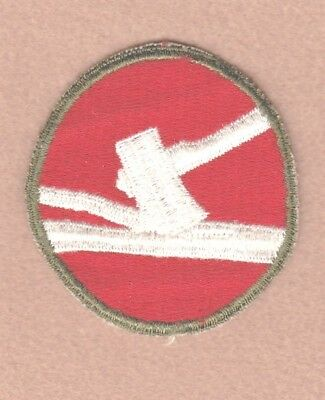 Army Patch: 84th Infantry Division, cut edge, WWII era