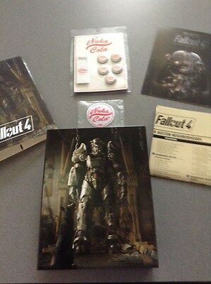 FALLOUT 4 ULTIMATE Vault Dweller's Bundle No Guide Included Only Items  Pictured