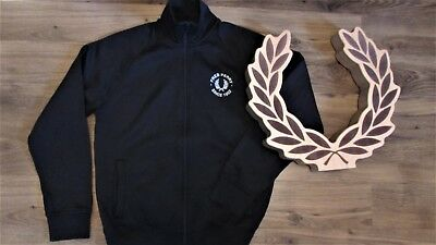 FRED PERRY CASUALS JACKET MOD SCOOTER TRACK DEADSTOCK SMALL MEDIUM L@@K L@@k