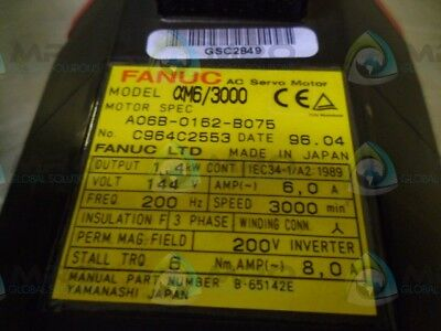 Ge Fanuc A06B-0162-B075 *new No Box*