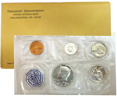 1964 US Proof Set in Original Government Envelope