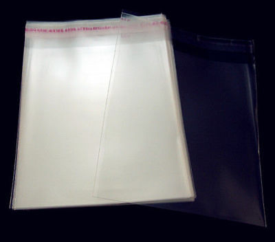200PCS Bulk Self 60mmx90mm Free Bags Adhesive AAA Plastic Clear Package Lots