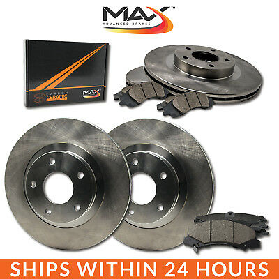 [Front + Rear] Rotors w/Ceramic Pads OE Brakes Caravan Journey Town Country