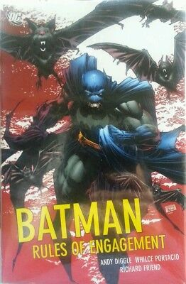BATMAN RULES OF ENGAGEMENT DC TPB  MINT CONDITION sealed collectible edition 07