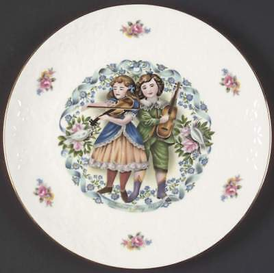 Royal Doulton VALENTINES DAY PLATE Loves Melody 77915