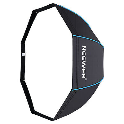 "Neewer 47"" Octagonal Softbox Umbrella with Blue Edges for Canon Nikon Speedlite"