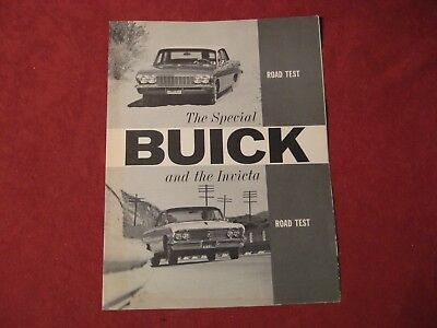 1961 Buick Dealer Salesman Dealership Brochure Original Booklet Old Catalog  GM