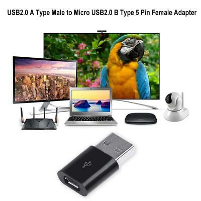 USB2.0 A Type Male to Micro USB2.0 B Type Female Charger  Adapter Converter
