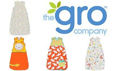 Grobag Baby Girl Boy Sleeping Bag Tog 1.0 100% Cotton 21-23 deg C SAVE $32.00!