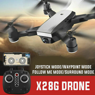 5MP Foldable Dual GPS Drone Selfie Camera 2.4G Wifi FPV Quadcopter Helicopter