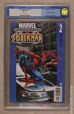 Ultimate Spider-Man #2A 2000 CGC 9.6 0117117005