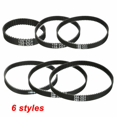 Round RepRap GT2 Timing Belt 6mm wide 2mm pitch 2GT for Pulley 3D Printer CNC
