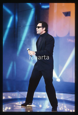 35mm vintage slide* 1987 COLOGNO MONZESE TELEMIKE - CANALE 5 - Tom JONES (3)