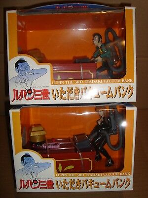 Lupin The Third Itadaki Vacuum Bank Set Lupin Iii/Fujiko Banpresto 2001