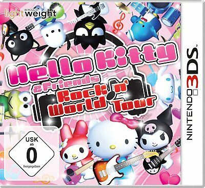 Hello Kitty + Friends - Rockin' Mundo Tour Nintendo 3DS Nuevo y Emb. Orig.