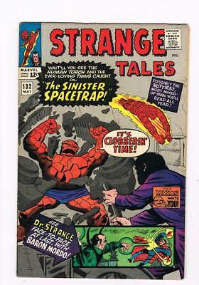 Strange Tales # 132  The Sinister Spacetrap ! grade 6.5 scarce book !