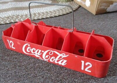 VERY RARE 1950s COCA-COLA 12-Pack BOTTLE CARRIER....L@@K!