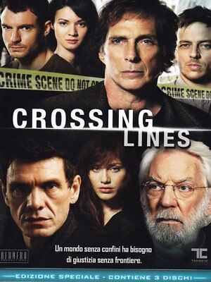 Crossing Lines - Stagione 01 (3 Dvd)  - Dvd