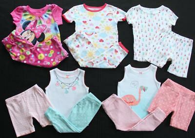 Girl 18 Month Spring Summer Pajama Sets Clothes Lot Free Shipping