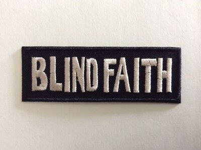 M316 // Ecusson Patch Aufnaher Toppa / Neuf / Blind Faith 8*3 Cm