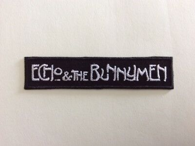 M325 // Ecusson Patch Aufnaher Toppa / Neuf / Echo And The Bunnymen 10*2,3 Cm