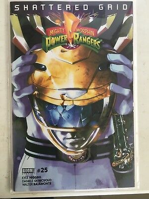 YELLOW RANGER Mighty Morphin Power Rangers MMPR 25 Shattered Grid Variant BOOM!!