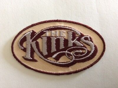 M347 // Ecusson Patch Aufnaher Toppa / Neuf / The Kinks 8*4,8 Cm