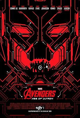 AVENGERS AGE OF ULTRON IMAX 13x19 PROMO MOVIE POSTER
