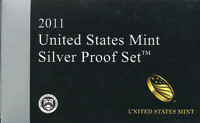 2011 United States Mint Limited Edition Silver Proof Set 14 Piece