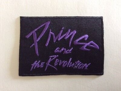 M371 // Ecusson Patch Aufnaher Toppa / Neuf / Prince And The Revolution 8*5,5 Cm