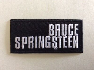 M374 // Ecusson Patch Aufnaher Toppa / Neuf / Bruce Springsteen 8*4 Cm