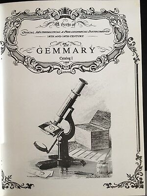 Gemmary Scientific Instrument Catalogs I-XIII (going out of business sale)