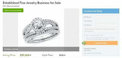 Fine Jewelry Store Location, Website, and EBay Store for Sale - Established 2005