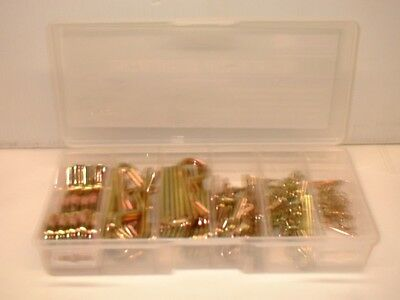 103 Pc Jumbo R Pin Hitch Pin, Hair Pin, Tractor Clip Assortment GRIP 16293