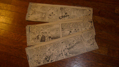 ALLEY OOP, 27 DAILIES FROM DECEMBER 1942, daily comics