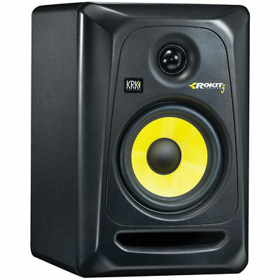 Krk Rp-5 G3 Rp5G3 Rokit Black Single (1) Studio Monitors New Offer