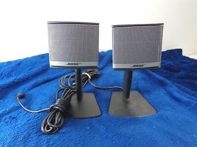 Bose Companion 3 Series II Multimedia Computer Speakers CAT 3702 Tested/Works