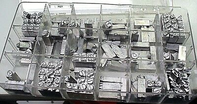 Type for Howard Imprinting Machine foil hot stamping machine. See Picture our #6