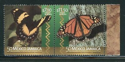 Mexico MNH Scott#3030a Diplomatic Relations with Jamaica Butterflies 2016 $$