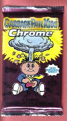 2013 Garbage Pail Kids Chrome Hobby Pack from Box! OS 1