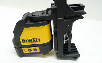 DeWalt DW088 Self Leveling Horizontal/Vertical Cross Line Laser Level- 2/B45374B