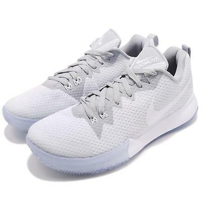 dc26830255d Nike Zoom Live II EP 2 White Wolf Grey Men Basketball Shoes Sneakers  AH7567-101